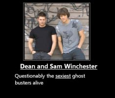 Dean and Sam Whinchester by EvilKittenz09