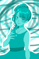 Turquoise (FanArt) by HateEverything