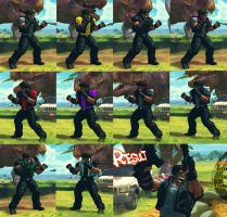 USFIV Afro Deejay 10 color pack by monkeygigabuster