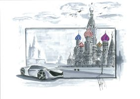 Moscow view by talhakabasakal