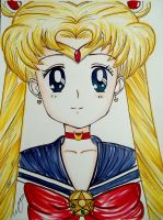 Sailor Moon by TH3B3A7L3S