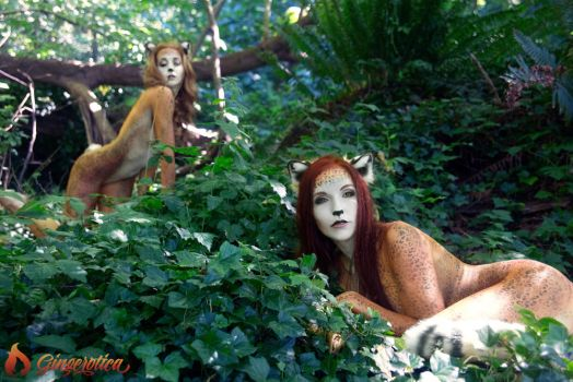 Gingerotica - Frisky Kitties 02 by Gingersnap-Pixie
