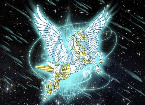 Pegasus - Steed of the Empyrean *ACE* by Sekishiki