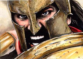 300. Leonidas by Christopher-Manuel