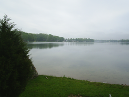 Cloudy Lakefront by TheInimitableECypher