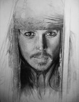 Jack Sparrow II by KLSADAKO