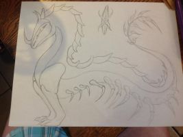 Dragon concept wip by Kryptic-Stable-Nordy