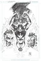 IRREDEEMABLE 25 Cover Pencils by DrewEdwardJohnson