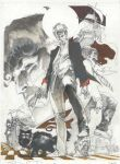 Dylan Dog color fest cover pencil by simonebianchi