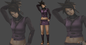 Wrath of the shadow assasin/Young Ayame mesh mod by Saskeni