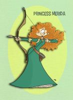 Pixar Madness Month - Day 2 - Merida by tyrannus