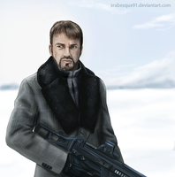 Fargo - Lorne Malvo by Arabesque91