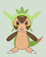 Chespin by LovelyDreamer3192012