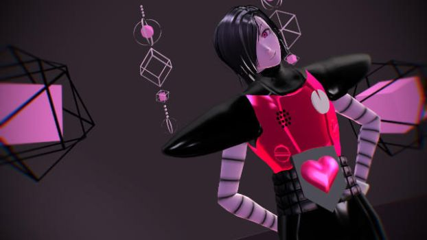 MMD M E T T A T O N from undertale by BloodBurstRosso