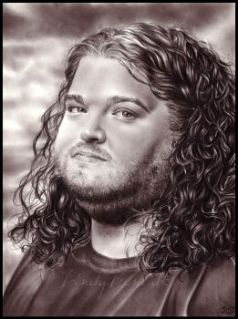 Hurley from Lost by Zindy