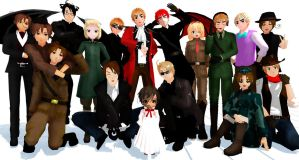 MMD My Model Edits by hetalia-fanart