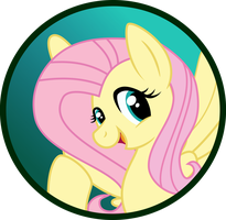 Fluttershy Button by MLP-Scribbles