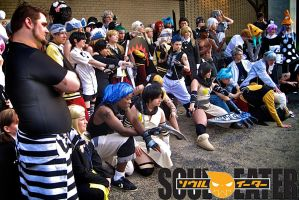 Soul Eater group ACEN 2011 by Cory-Hate