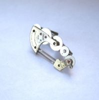 Tie Clip Thirty One by AMechanicalMind