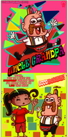 Shady Squiggles~UNCLE GRANDPA! by LittleMissSquiggles