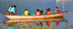 Boat to School by sumangal16
