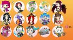 Chibi Champions from League of Legends (extended) by NPrinny
