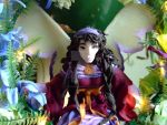 Fairy Garland Hanging close-up by RavensAerie