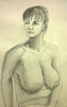 Figure drawing 9 by MuseOfMelancholy