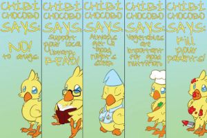Chibi Chocobo: Words of Wisdom by ThePioden