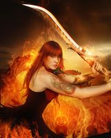 Heavenly Sword by DerekEmmons
