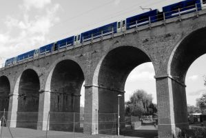 Chelmsford Viaduct - Class 360 by cR11