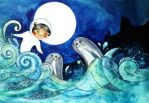Song of the Sea by JenniElfi