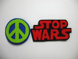 STOP WARS pins ver.1 by Didaemus