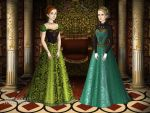 The two sisters of Arendelle by FANNItasticFangirl