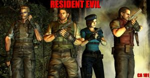 Resident Evil by CharonA101