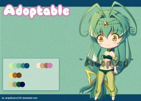 Adoptable Chibi 1 ~closed~ by angelbunny1391