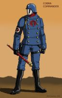 COBRA COMMANDER design 1 by MJFCreations
