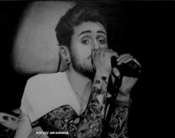 Davey Havok by NLevaschuk