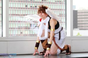 Pit: Kid Icarus - Take off! by denni-cosplay