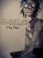gorillaz the fall by gilly15
