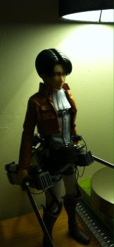 Attack on Titan: Captain Levi action figure by Peazil
