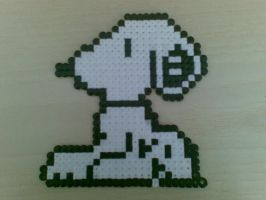 Snoopy - Hama beads by RavenLSD