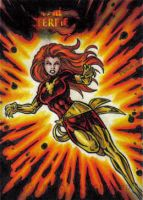 MM3 Dark Phoenix Artist Proof by tonyperna
