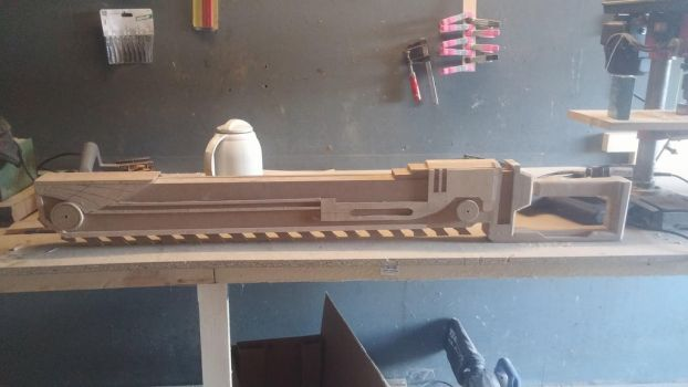 Chainsword mdf WIP by sMadman