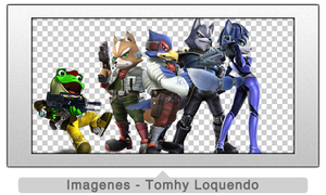 Pack Renders Star Fox by TomhyLoquendo