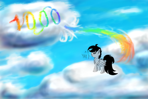 1000 watchers cloud graffity:D lol by SparklySpectrum