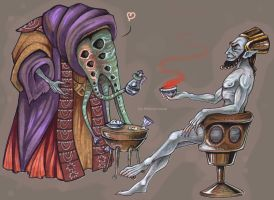 Ancient Dagoth Brandy by HeavyMouse