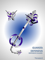 guardia defensiva -defensive guard- by portadorX