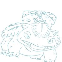3 Venusaur sketch by Zeke-01