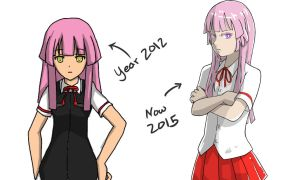 2012 and 2015 by monku696